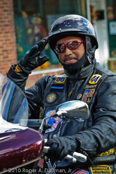 salute, rider, parade