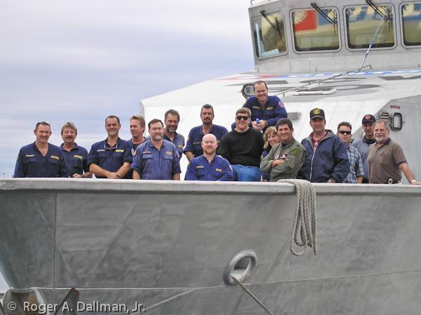 ship, crew, test, Australia