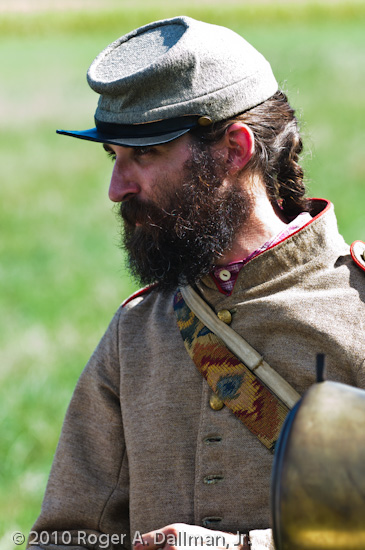 gettysburg, civil war, re-enactor, black and white