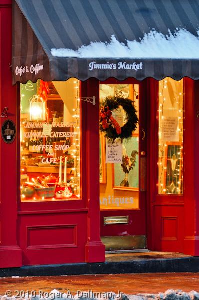 door, window, warrenton, virginia, christmas, night