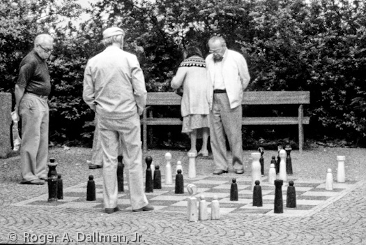 high contrast, augsburg, germany, chess