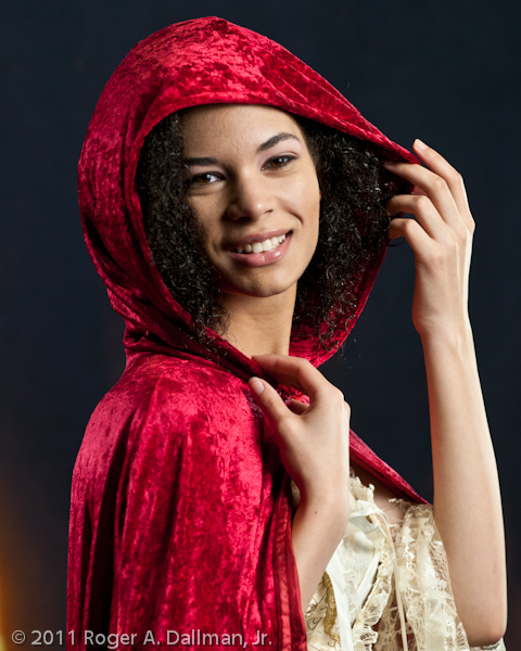 Little Red Riding Hood at Photoshop World 2011, Orlando, FL