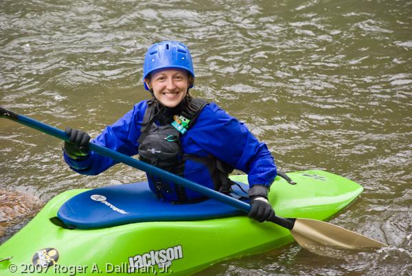 Nantahala River, NC, kayak