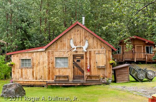 Cabin in Kantishna, Denali National Park, Alaska