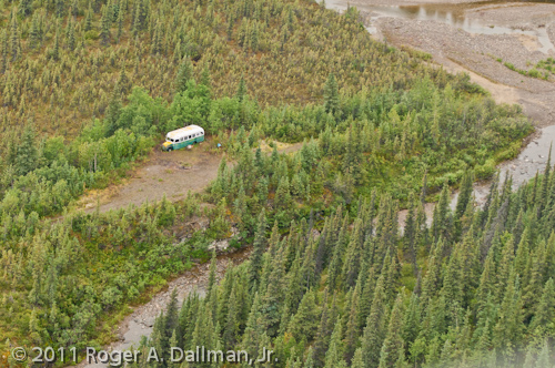 McCandless bus in Denali National Park, Alaska