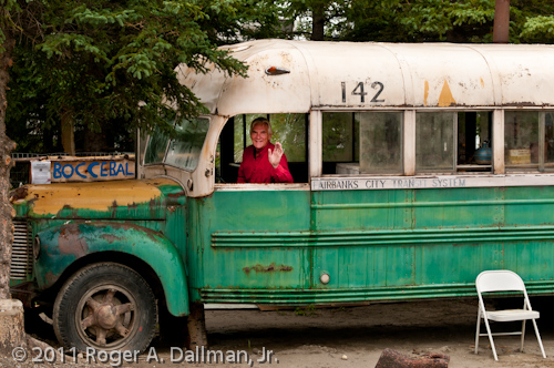 Prop bus from the movie, Into the Wild, Healy, Alaska