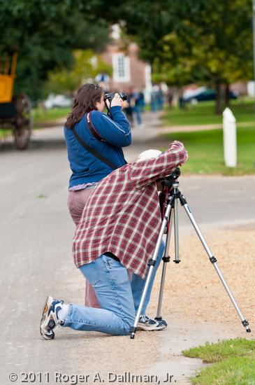 Williamsburg photowalkers