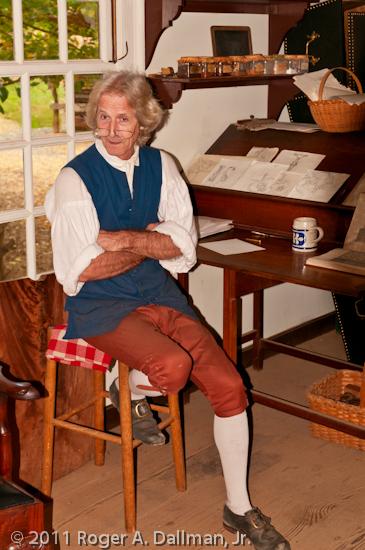 Williamsburg cabinet maker