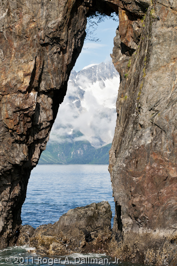 Window Rocks, in Kenai Fjords National Park, Seward, Alaska