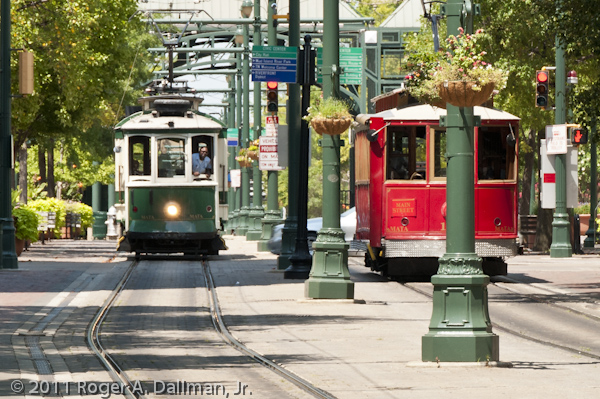 Trollies in Memphis, Tennessee