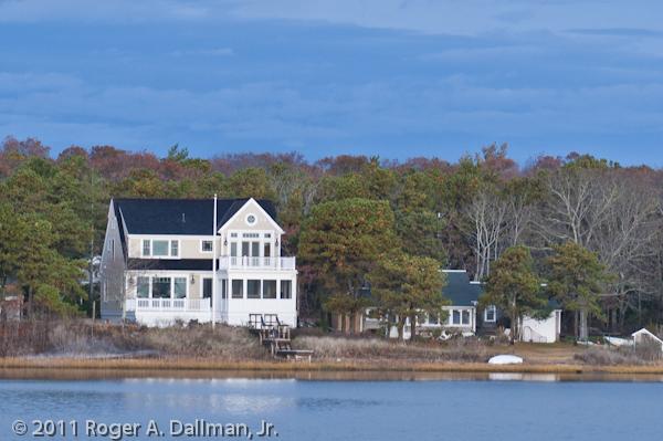 Cape Cod, MA, USA, beach house