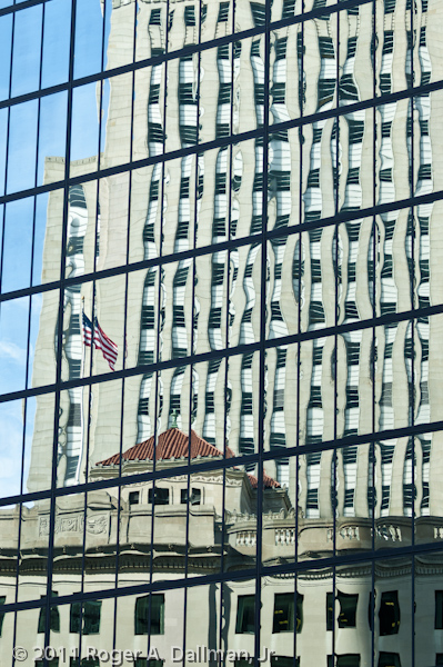 Building reflections in Boston, MA, USA