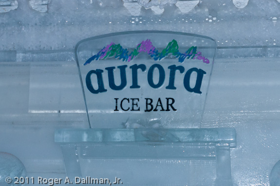 Aurora Ice Bar, Chena Springs, Alaska