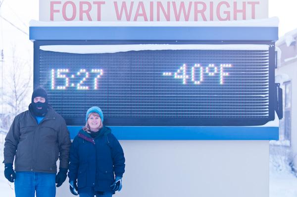 Cold in Fairbanks