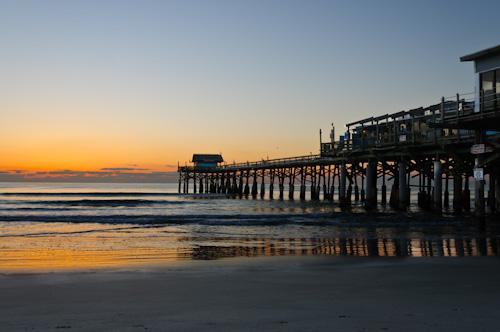 Cocoa Beach, FL, sunrise