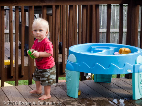 photographing kids at play