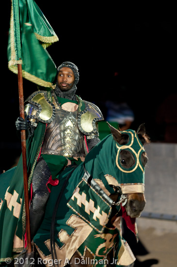 The Green Knight at Medieval Times
