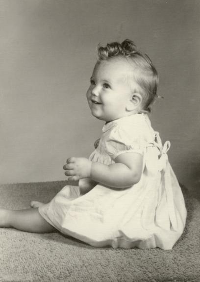 Resoring old baby photos