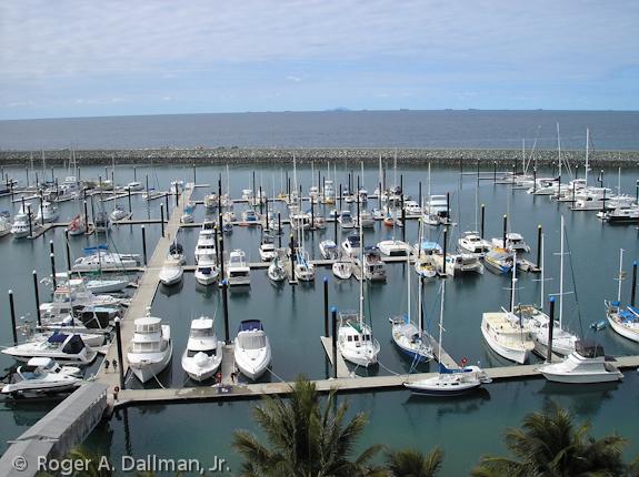 Marina in McKay, Australia