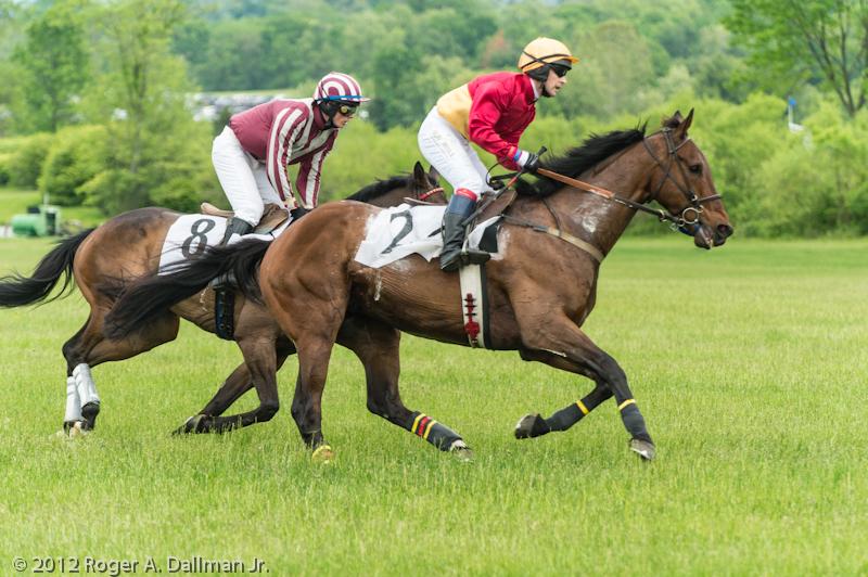 jockies at full gallop
