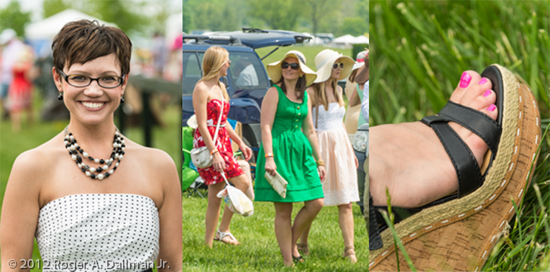 scenes from the Virginia Gold Cup Race