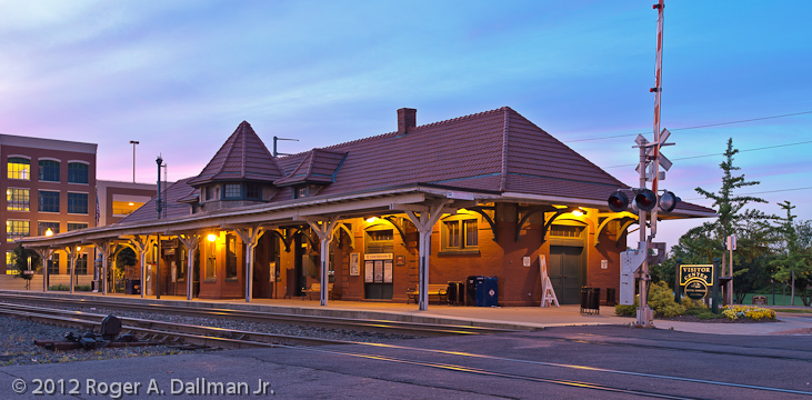 Train station in Manassas, Virginia