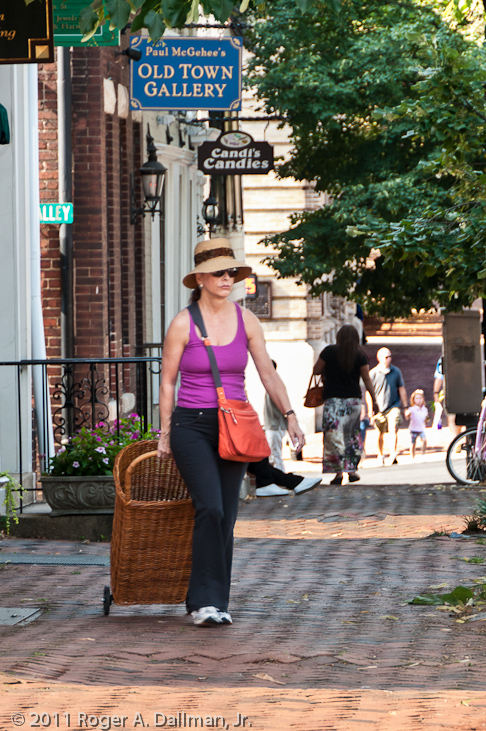 Shopping in Old Town Alexandria, VA