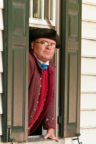 Colonial Williamsburg portrait
