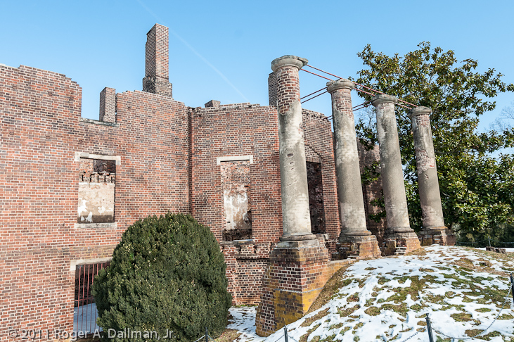 Ruins at Barbourville Vineyards, Charlottesville, Va