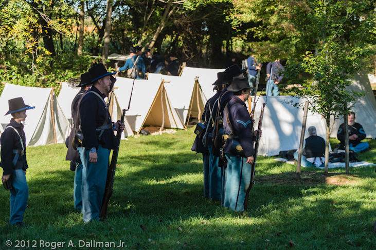 Union camp at Antietam