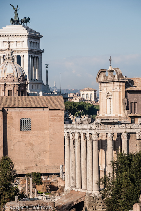 Rome's ancient buildings