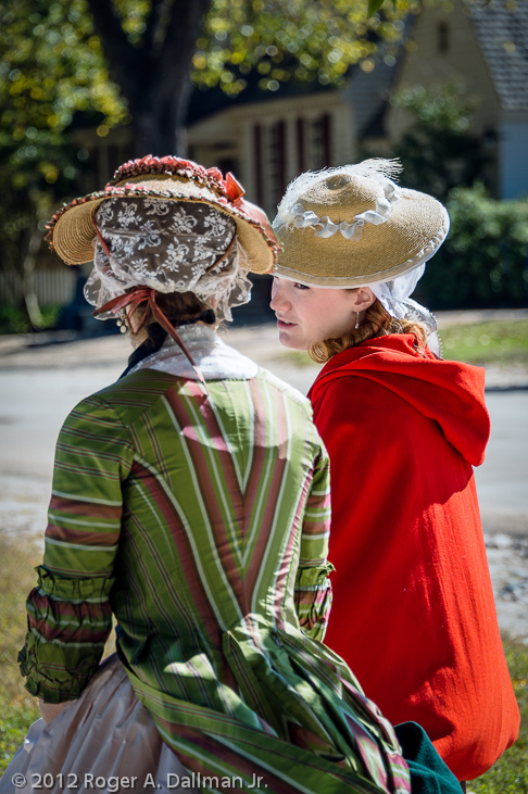 Town gossip in Colonial Williamsburg, Va
