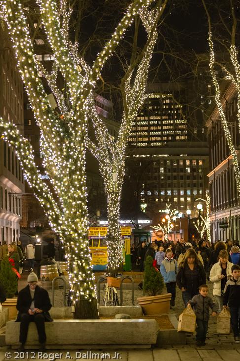 Boston, MA, USA, night