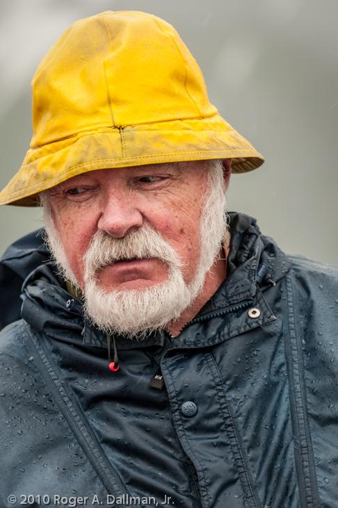 Ferry boat captain, in Alaska