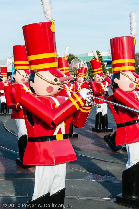 A parade at DisneyWorld, Orlando, Florida