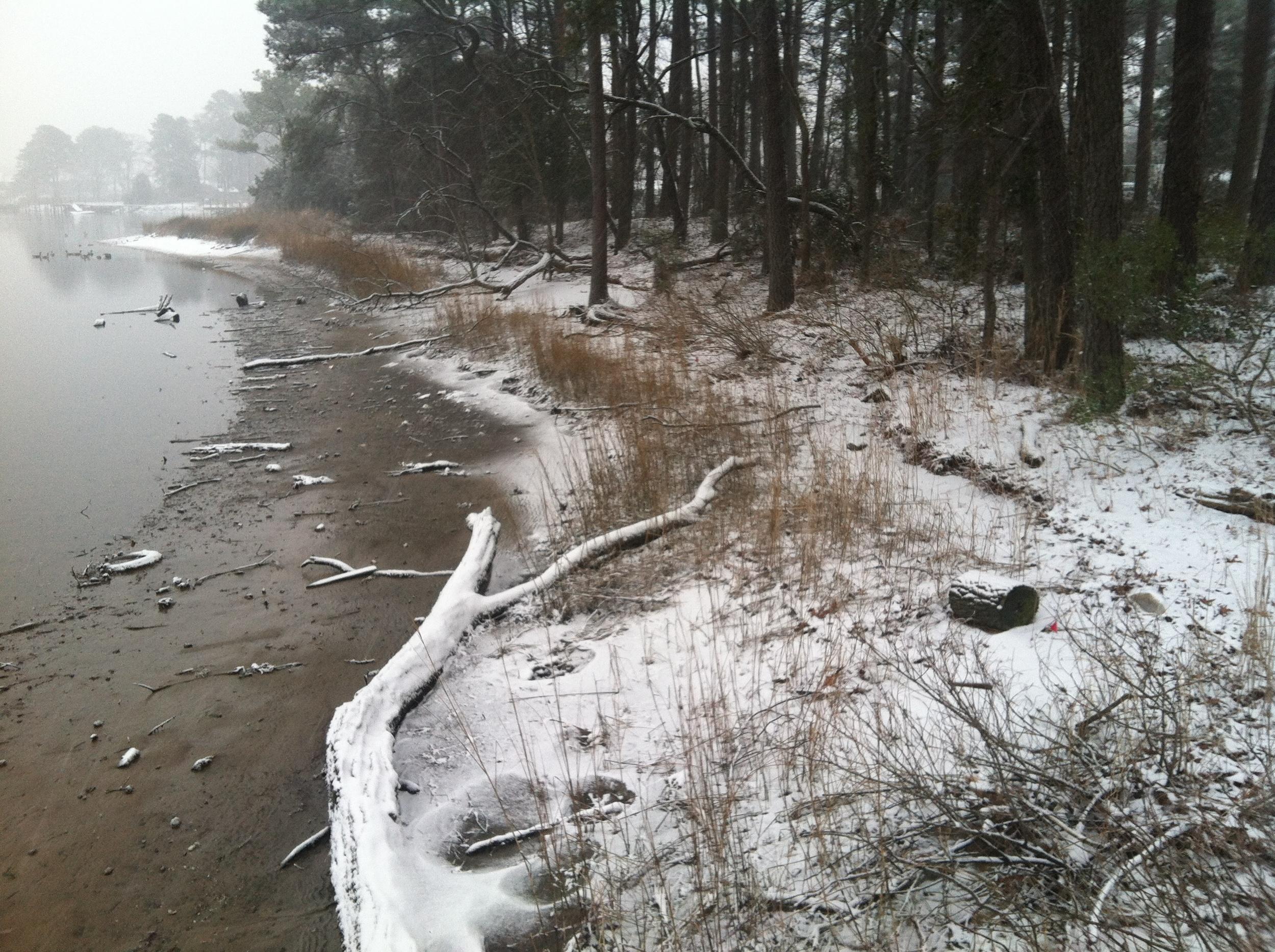 Elizabeth River Snow