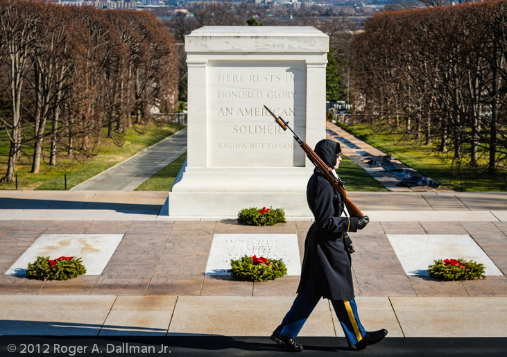 Tomb of the Unknown, Arlington National Cemetery, Va