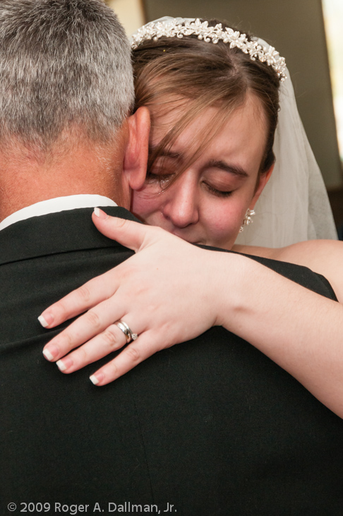 wedding photo, father and daughter dance