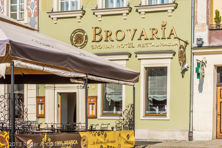 Hotel Brovaria, Poznan, Poland