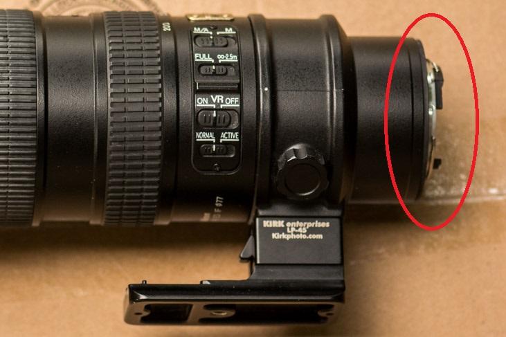 Broken 70-200mm lens