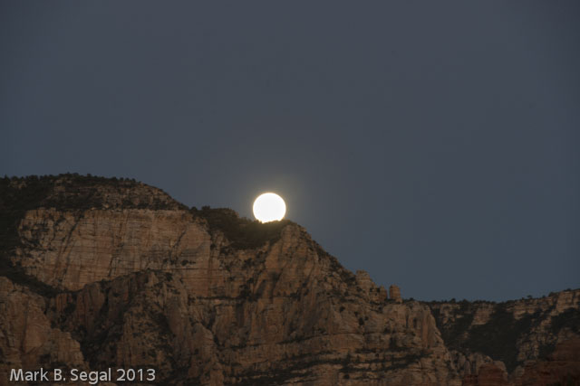 Sedona Super Moon