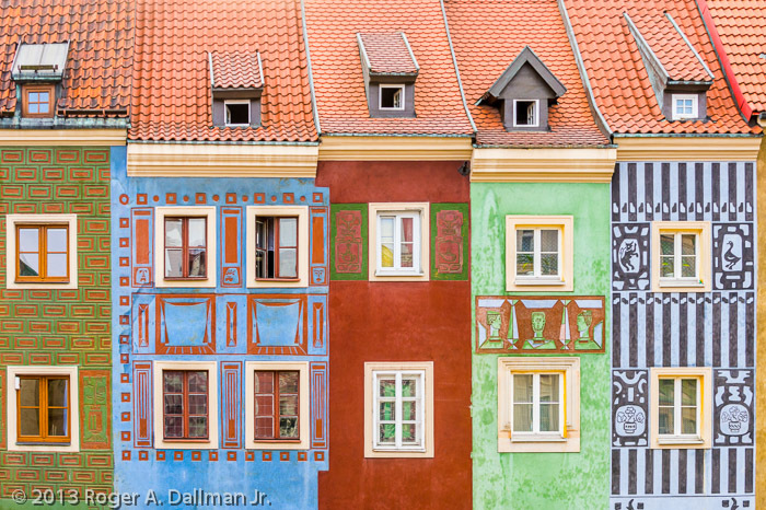 These colors from Poznan, Poland, would really pop on an aluminum print.