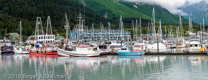 Seward, Alaska. I wouldn't want to lose this file.