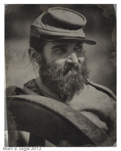 Tintype effect