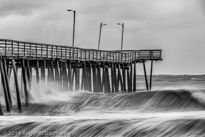 Stormy morning in Virginia Beach