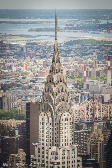 I love the Chrysler building.  The D800 lets you get so much detail.