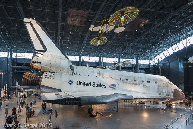 Space Shuttle Discovery--39 trips to orbit and back