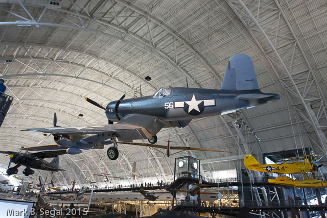 F4U Corsair--My uncle was shot down in one of these over Korea.