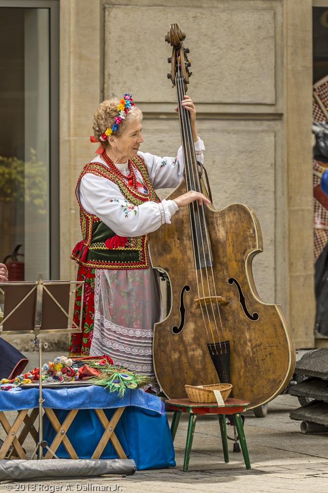 Street Musician, Krakow, Poland