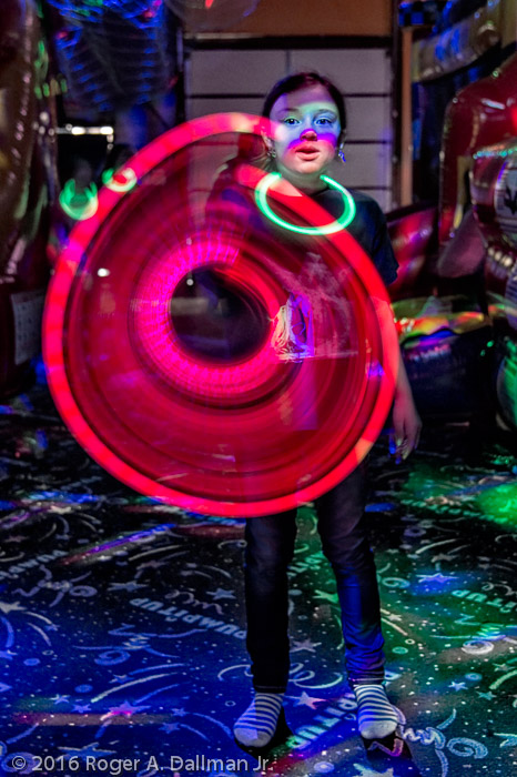 Party motion blur